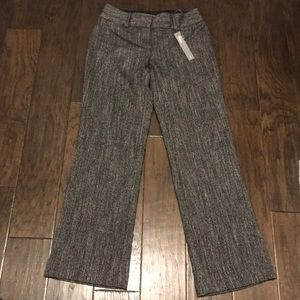 NWT LOFT Petite Julie Tweed Trouser - Size 0S